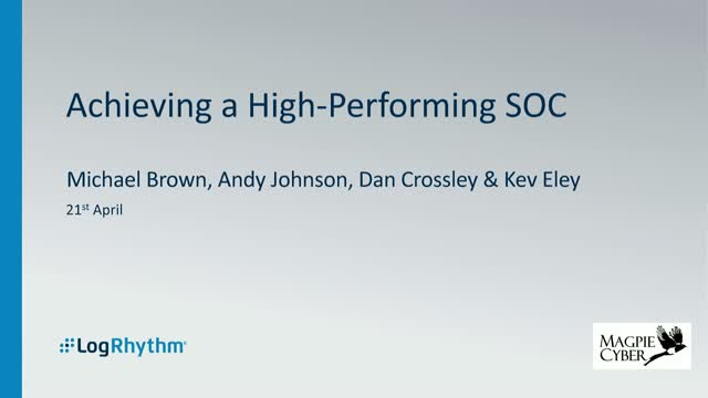 Achieving a high-performing SOC