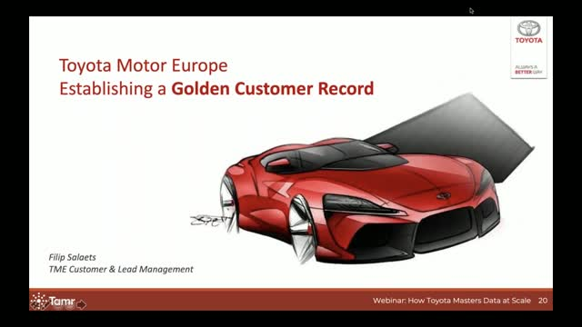 How Toyota Established a Golden Customer Record