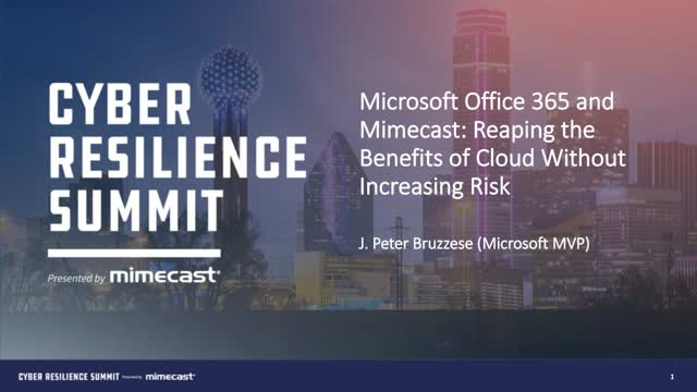 Microsoft Office 365 Email: Reaping The Benefits Without Increasing Risk