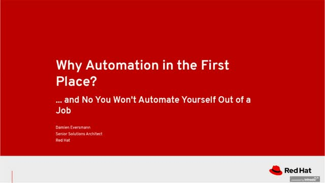 Why Automation in the First Place?