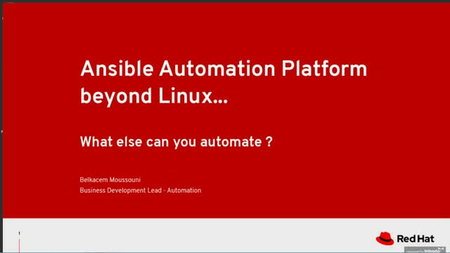 Ansible Automation Beyond Linux: What Else Can You Automate?