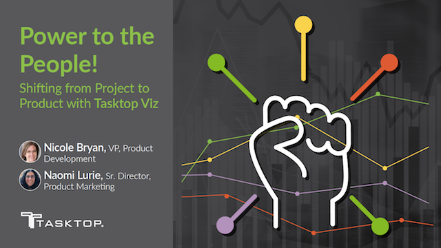Power to the People! Shifting from Project to Product with Tasktop Viz