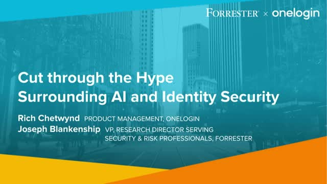 Cut through the hype surrounding AI and Identity Security