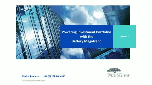 Powering investment portfolios with the battery megatrend