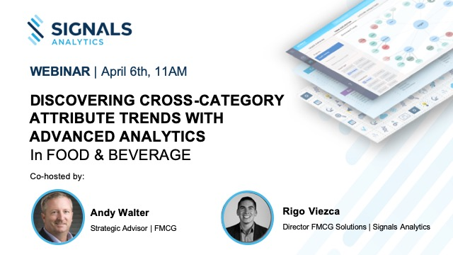 Discovering Cross-Category Trends Using Advanced Analytics in Food & Beverage