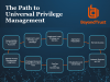 The Journey to Universal Privilege Management