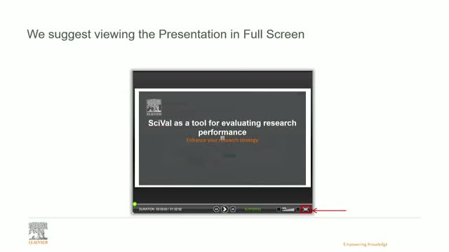SciVal as a tool for evaluating research performance of institutions and single