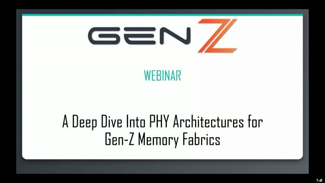 A Deep Dive Into PHY Architectures for Gen-Z Memory Fabrics