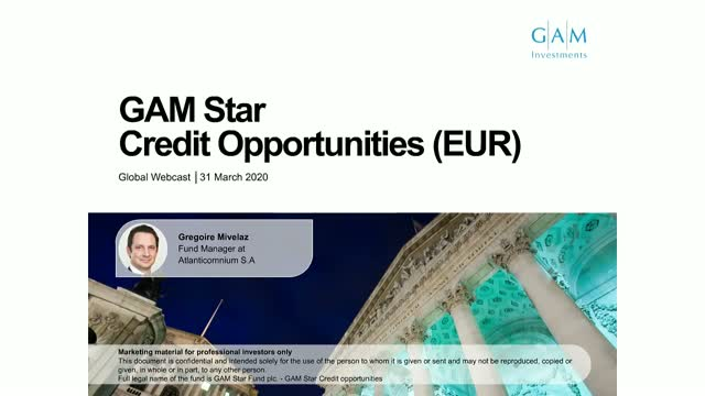 Credit remains resilient - GAM Star Credit Opportunities fund update