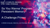 So You Wanna Program Persistent Memory? A Challenge Primer