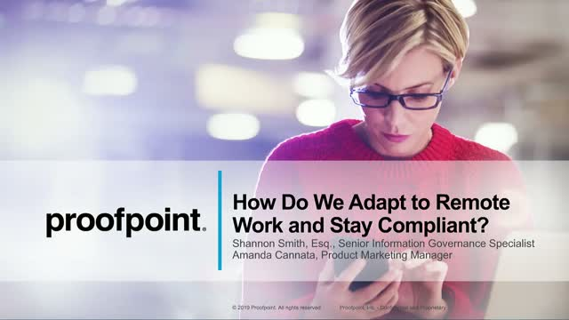 How Do We Adapt to Remote Work and Stay Compliant?