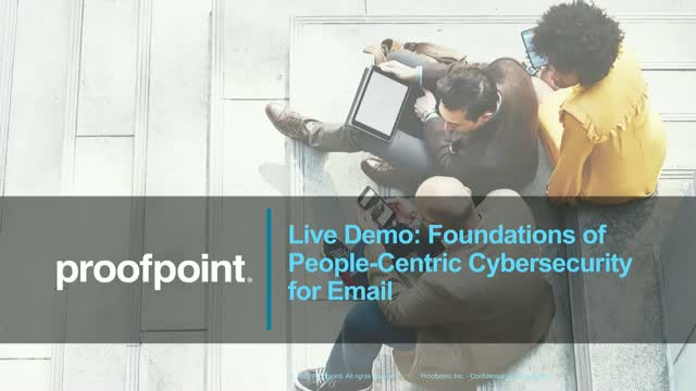 Live Demo: Foundations of People-Centric Security for Email