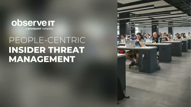 Live Demo - Protecting Your Data Against the Insider Threat Risk
