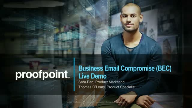 Live Demo - How to stop BEC attacks with Proofpoint