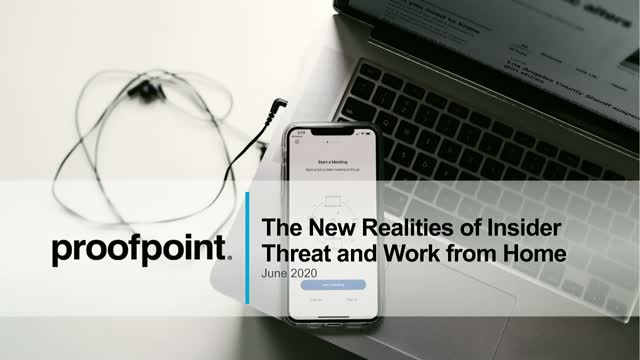 New Realities of Insider Threats & Work from Home - Featuring Forrester Research