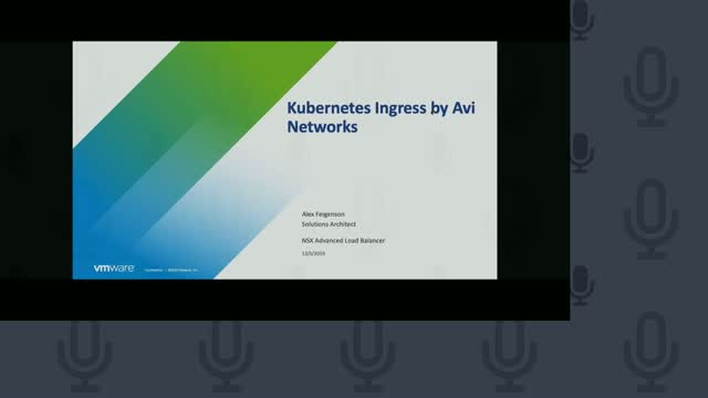 Kubernetes Ingress by Avi Networks