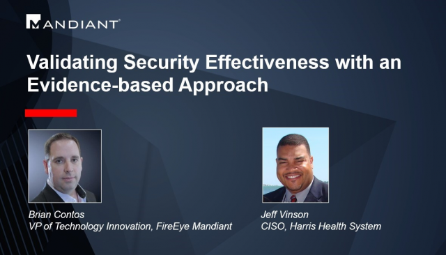 Validating Security Effectiveness with an Evidence-based Approach