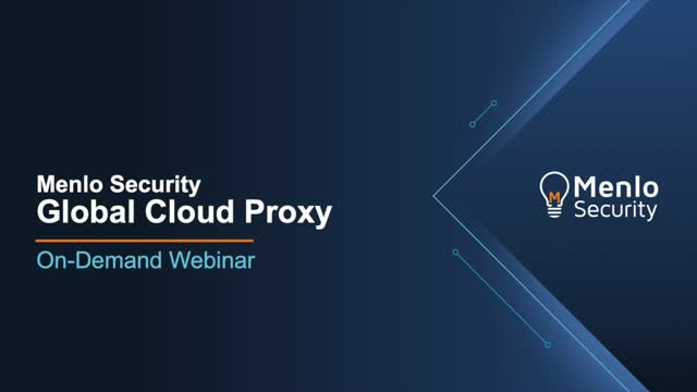 Global Cloud Proxy: Cloud-based Proxy for SD-WAN and Network Transformation