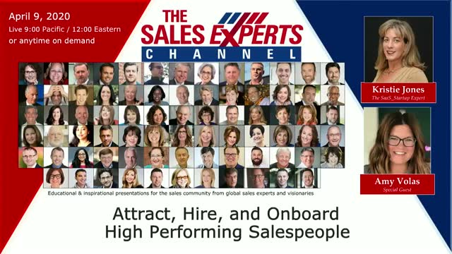 Attract, Hire, and Onboard High Performing Salespeople