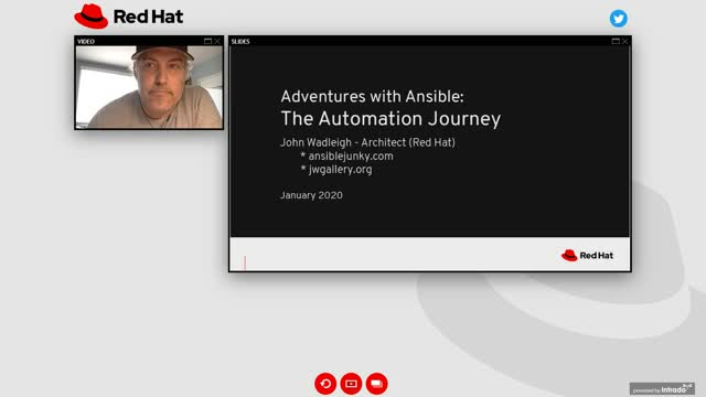 Adventures with Ansible enterprise automation