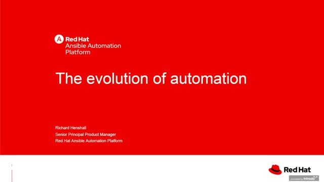The Evolution of Automation