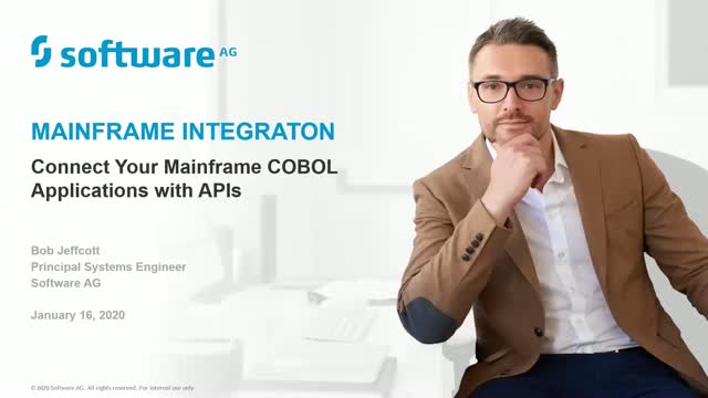Connect your mainframe COBOL applications with APIs