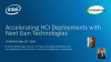 Accelerating Hyper-convergence Deployments with Next Generation Technologies