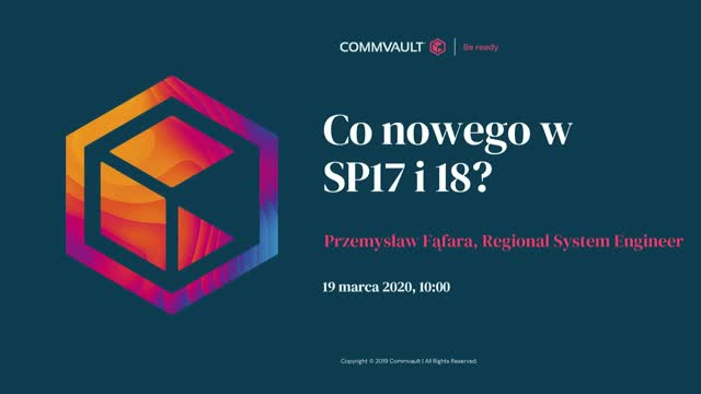 Co nowego w SP17 i 18?