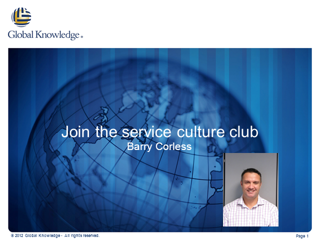 Join the Service Culture Club