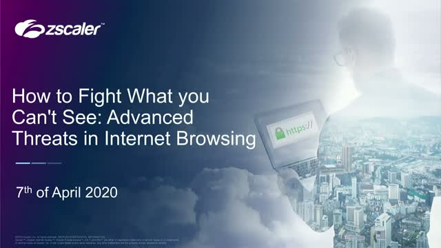 How to Fight What You Can't See: Advanced Threats in Internet Browsing