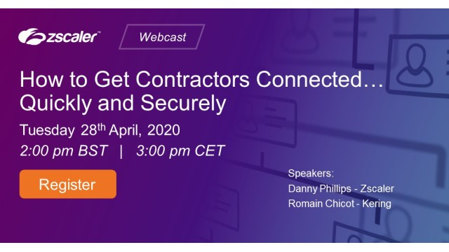 How to Get Contractors Connected... Quickly and Securely