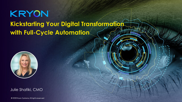 Kickstarting Your Digital Transformation with Full-Cycle Automation
