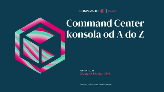 Command Center - Admin konsola od A do Z