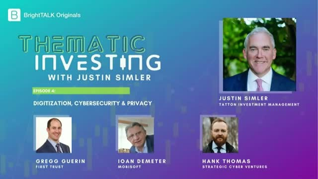 Thematic Investing: Digitization, Cybersecurity & Privacy