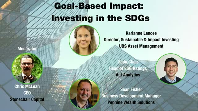[Webcam Panel] Goal-Based Impact: Investing in the SDG