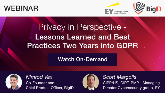 Privacy in Perspective - Lessons Learned and Best Practices Two Years into GDPR