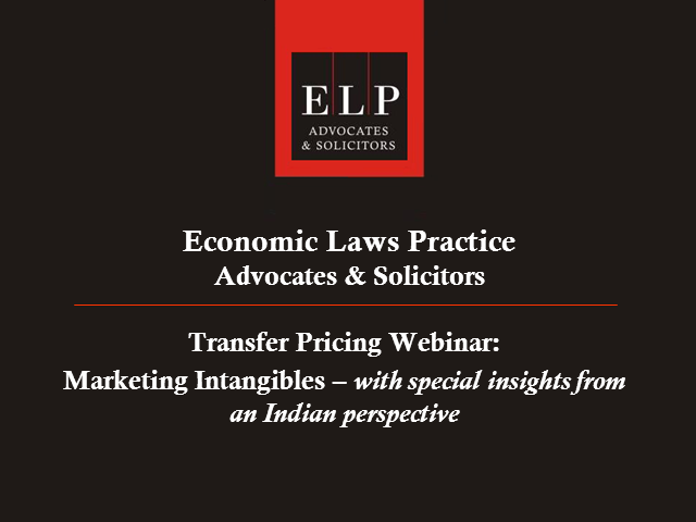 Transfer pricing issues surrounding marketing intangibles - Indian perspective