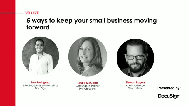 5 ways to keep your small business moving forward