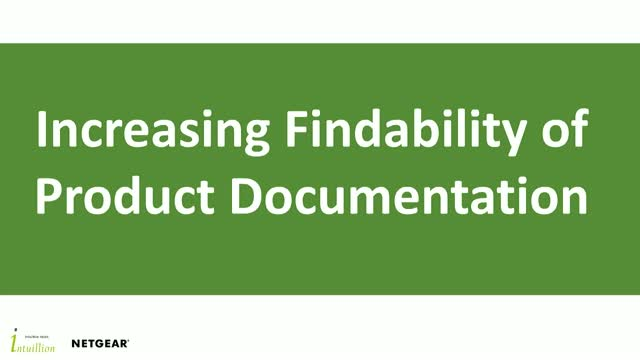 Increasing Findability of Product Documentation for End-Users and Support Agents