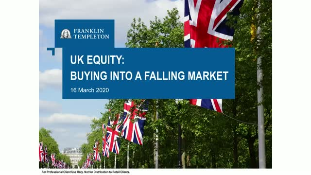 UK Equity: Buying into a Falling Market