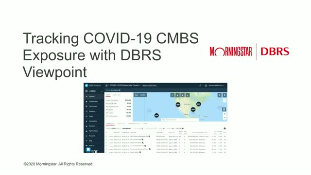 Track your COVID-19 CMBS Exposure with DBRS Viewpoint