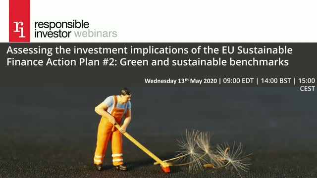 EU Action Plan Spring Series #2: Green and sustainable benchmarks