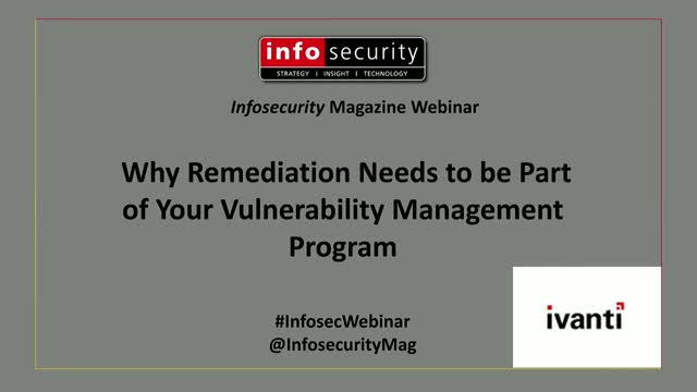 Why Remediation Needs to be Part of Your Vulnerability Management Program