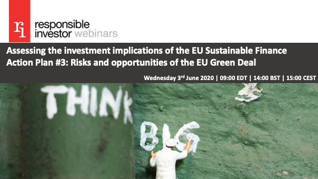 EU Action Plan Spring Series #3: Risks and opportunities of the EU Green Deal