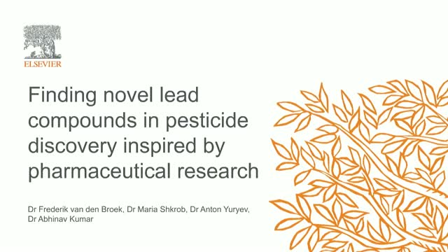 Finding novel lead compounds in pesticide discovery inspired by pharma research
