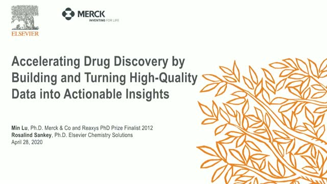 Accelerate drug discovery by building and turning data into actionable insights