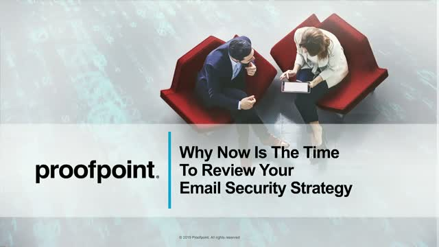 Email Security: Why Now Is The Time To Review Your Strategy