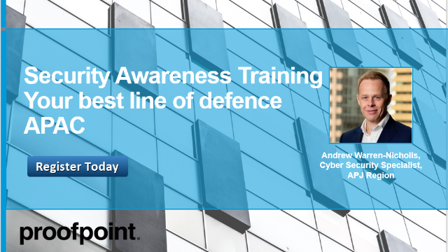 Security Awareness Training – Your best line of defence (APAC)