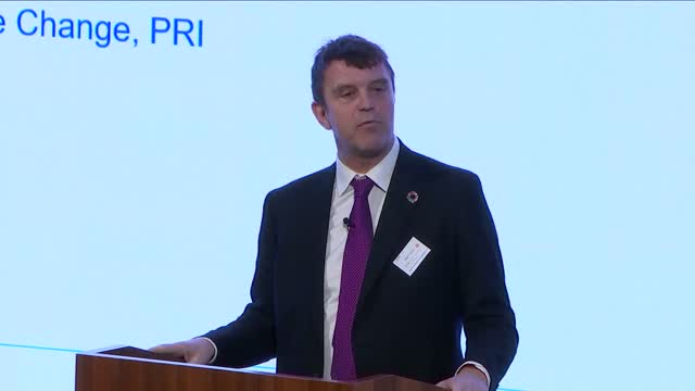 PRI London Forum - COP26: Advancing towards net zero
