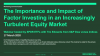The Imp. & Impact of Factor Investing in an Increasingly Turbulent Equity Market